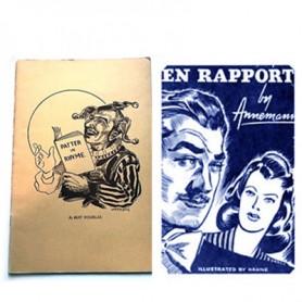 Patter in Rhyme by B. Douglas and En Rapport by T. Annemann - Set da 2 Libri