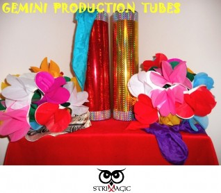 GEMINI PRODUCTION TUBES (Grande) by Strixmagic