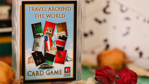 Travel Around the World (Gimmicks and Online Instructions) by Tony D'Amico and Luca Volpe Productions - Trick