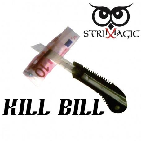 Kill Bill - Lama attraverso la banconota by Strixmagic