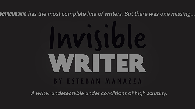 Invisible Writer (Pencil Lead) by Vernet - Trick