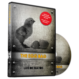 The Egg Bag (DVD and Gimmick) by Luis de Matos