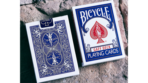 Bicycle Gaff Rider Back V2 (Blue) Playing Cards by Bocopo