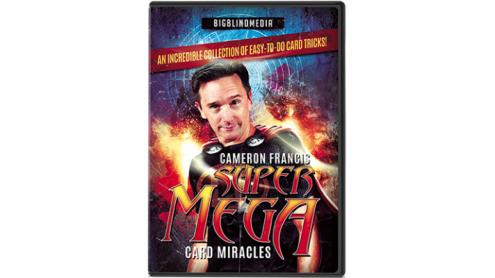 Super Mega Card Miracles by Cameron Francis - DVD
