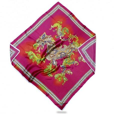 Vintage Dragon Silk (Foulard Coprente 80 x80)