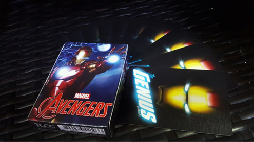 Avengers Iron Man Playing Cards