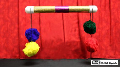 Super Pom Pom Stick (Glitter) by Mr. Magic - Trick