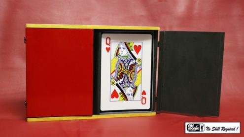 Sucker Card Box Jumbo by Mr. Magic - Trick