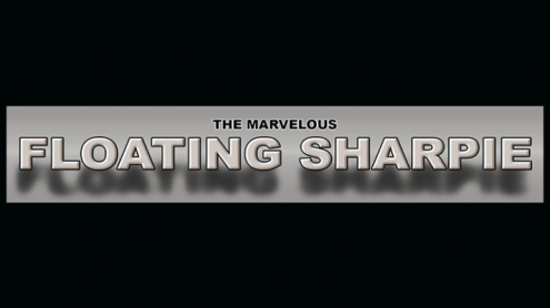 THE MARVELOUS FLOATING SHARPIE (Gimmicks and Online Instructions) by Matthew Wright - Trick