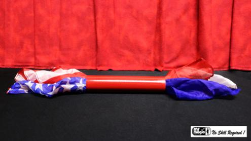 Blowing Blendo (U.S. Flag) by Mr. Magic - Trick