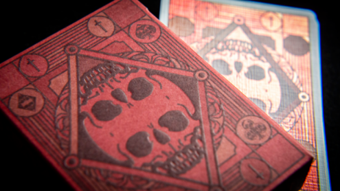 Graveyard Playing Cards