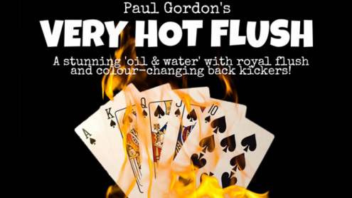Very Hot Flush by Paul Gordon (Gimmick and Online Instructions) - Trick