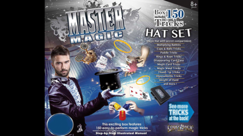 MASTER MAGIC 150 MAGIC HAT SET by Eddy's Magic - Trick