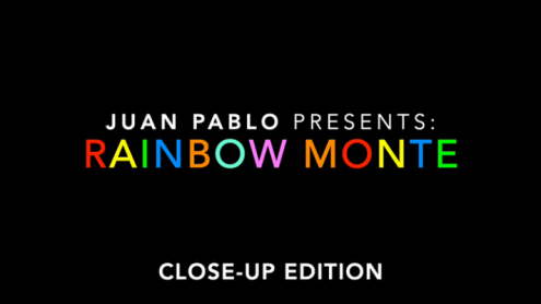 Rainbow Monte (Close up) by Juan Pablo - Trick