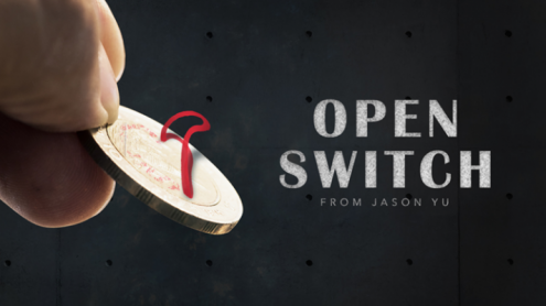 Open Switch (DVD and Gimmicks) by Jason Yu - DVD