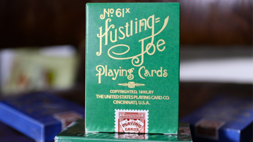 Limited Edition Hustling Joe (Frog Back Green Box) Playing Cards
