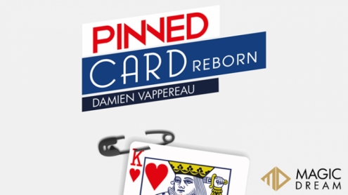 Pinned Card Reborn (Gimmicks and Online Instructions)  by Damien Vappereau and Magic Dream - Trick