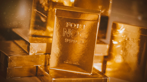 Fort NOC (GOLD) Playing Cards
