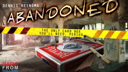 Abandoned RED (Gimmicks and Online Instructions) by Dennis Reinsma & Peter Eggink - Trick