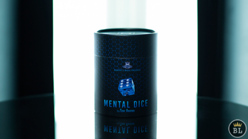 MENTAL DICE (With Online Instruction) by Tony Anverdi - Trick