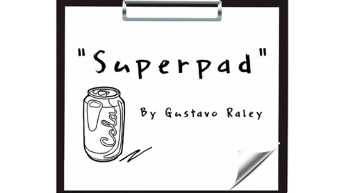 Super Pad 2 (Gimmicks and Online Instructions) by Gustavo Raley - Trick