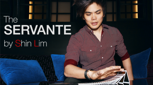 SERVANTE (Gimmicks and Online Instructions) by Shin Lim - Trick