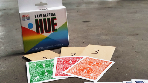 HUE Red (Gimmicks and Online Instructions) by Kaan Akdogan and MagicfromHolland - Trick