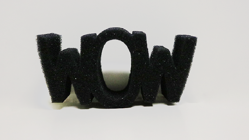 Sponge WOW (Black) by Goshman