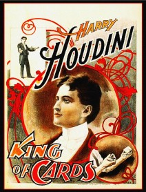 Houdini King of Cards Poster (51cm x 66cm)
