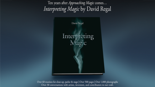 Interpreting Magic by David Regal - Book