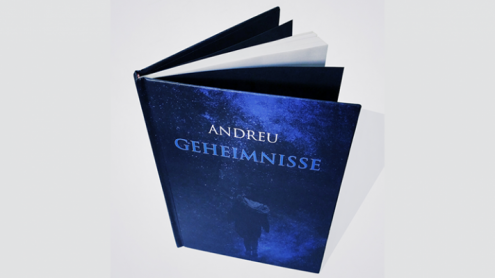 GEHEIMNISSE (Hardcover) Book and Gimmicks by Andreu - Book