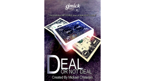 DEAL NOT DEAL Red (Gimmick and Online Instructions) by Mickael Chatelain - Trick