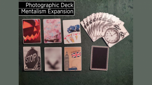 Photographic Deck Project Set (Gimmicks and Online Instructions) by George Tait - Trick