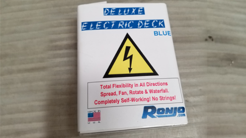 ELECTRIC DECK DELUXE (Blue) by Ronjo - Trick
