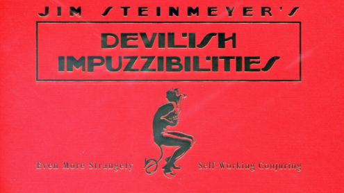Devilish  Impuzzibilities by Jim Steinmeyer - Book