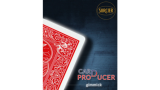 Card Production Gimmick Red by Sorcier Magic - Trick