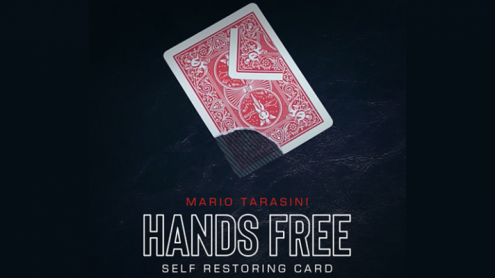 Hands Free (Gimmick and Online Instructions) by Mario Tarasini - Trick