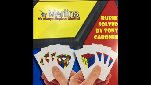 RUBIK SOLVED by Merlins - Trick
