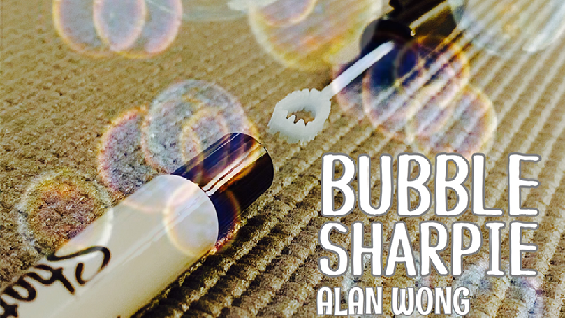 Bubble Sharpie Set by Alan Wong - Trick