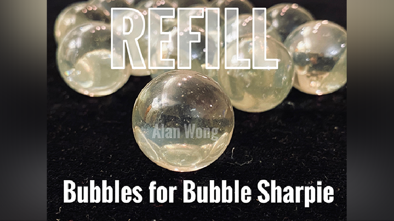 Bubble Sharpie Set Refill by Alan Wong - Trick
