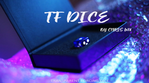 TF DICE (Transparent Forcing Dice) BLUE by Chris Wu - Trick