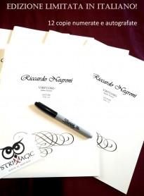 Virtuoso di Riccardo Negroni - Edizione ITALIANA Limitata, Numerata e Autografata