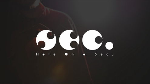 Hole On A Sec Blue By Zamm Wong & Magic Action - Trick