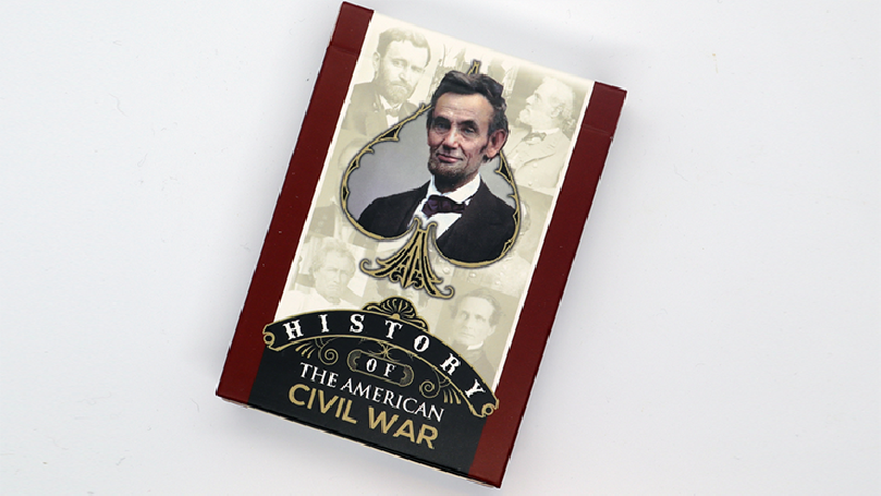 History Of American Civil War Playing Cards