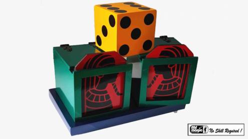 Split Die Box with Tray - Trick