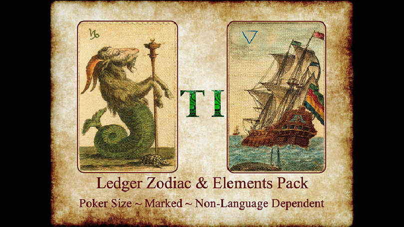 Ledger Zodiac & Element Pack by Taylor Imagineering