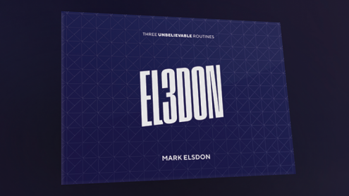El3don (Gimmicks and Online Instructions) by Mark Elsdon - Trick