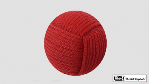 Rope Ball 2.25 inch (Red) by Mr. Magic - Trick