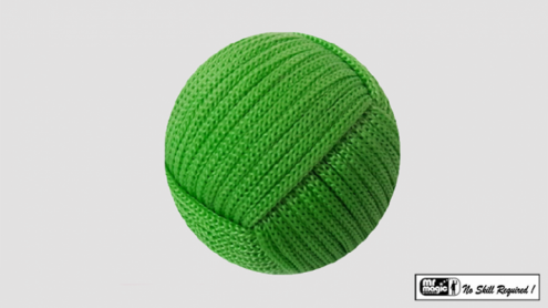 Rope Ball 2.25 inch (Green) by Mr. Magic - Trick
