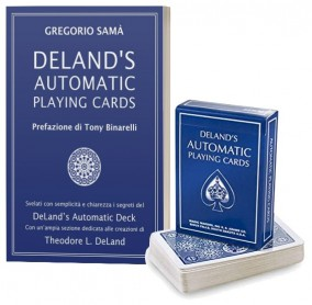 DELAND'S AUTOMATIC PLAYING CARDS (Libro + Mazzo) by MagicoGreg